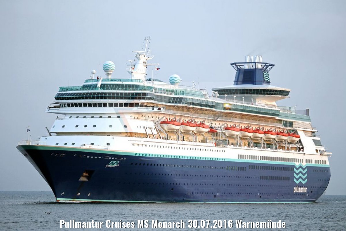 Pullmantur Cruises MS Monarch 30.07.2016 Warnemünde