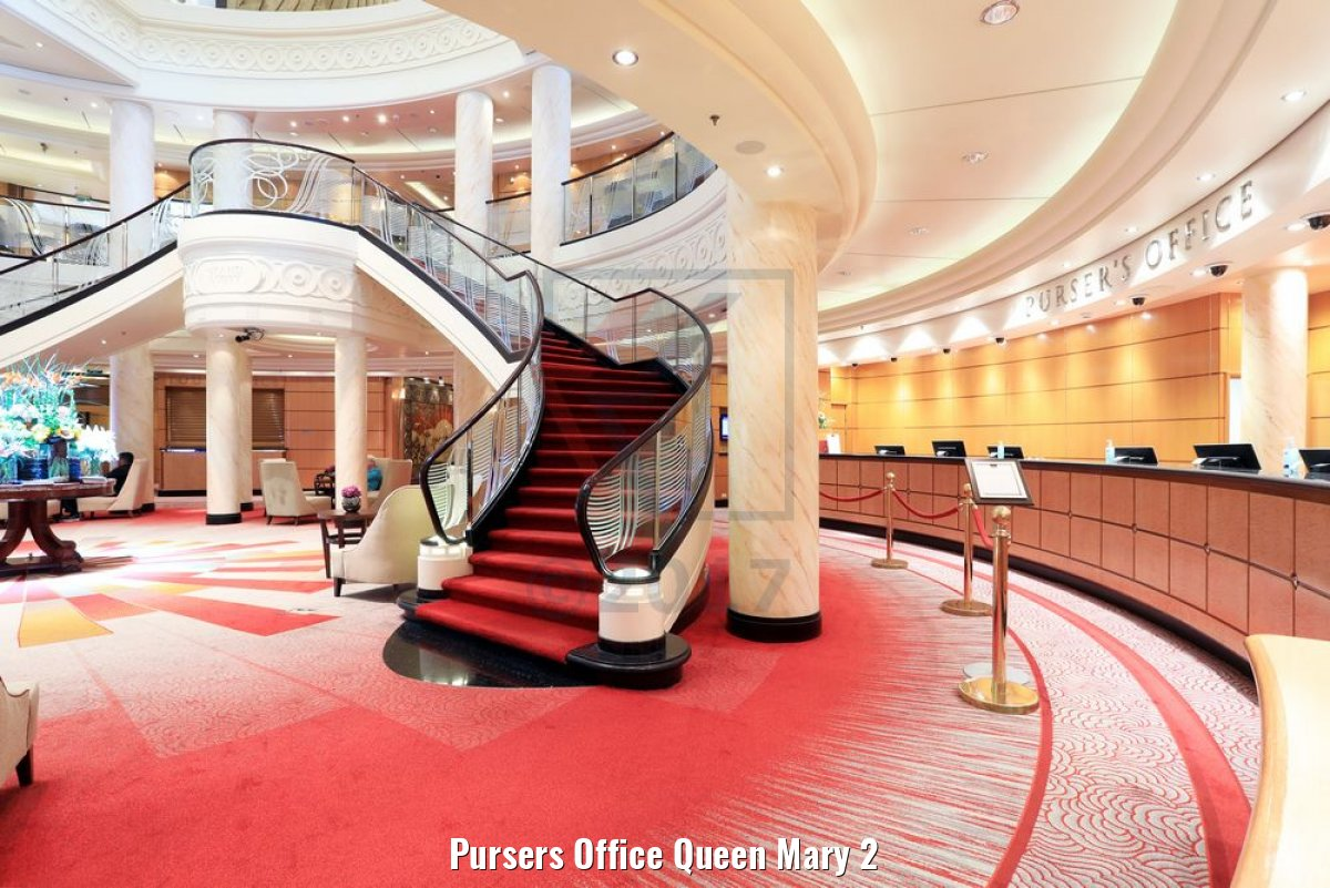 Pursers Office Queen Mary 2