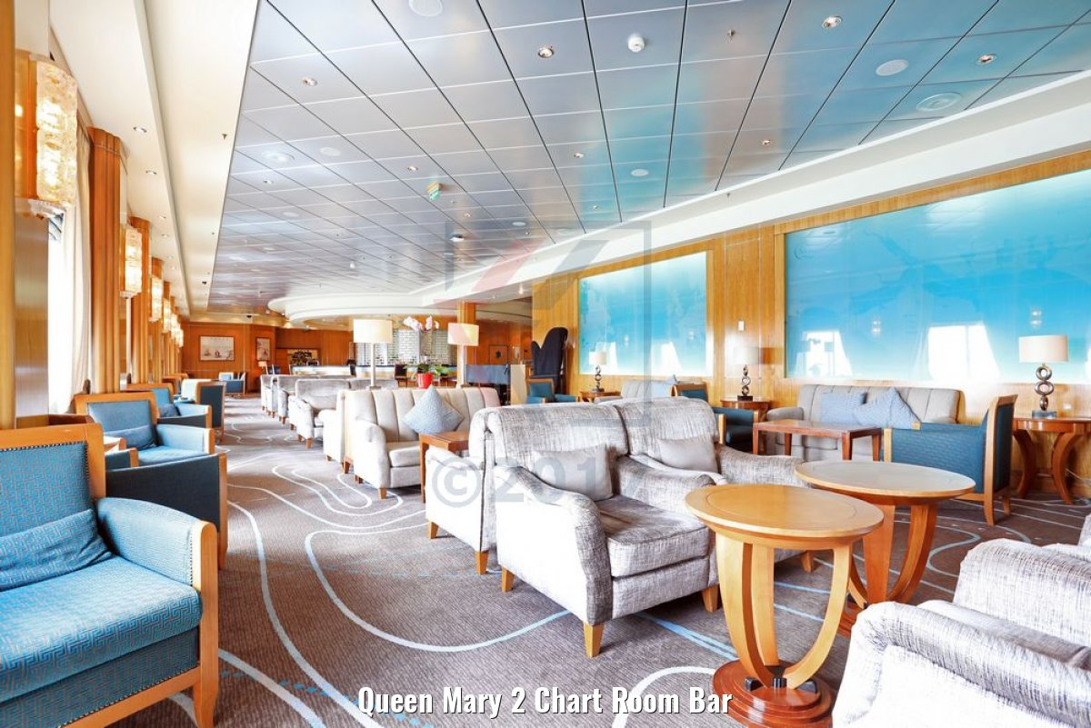 Queen Mary 2 Chart Room Bar