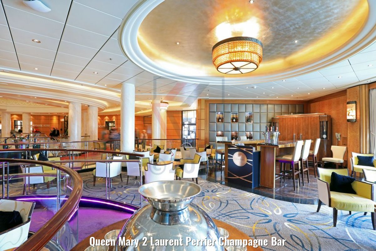 Queen Mary 2 Laurent Perrier Champagne Bar
