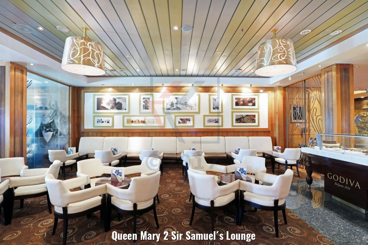 Queen Mary 2 Sir Samuel´s Lounge