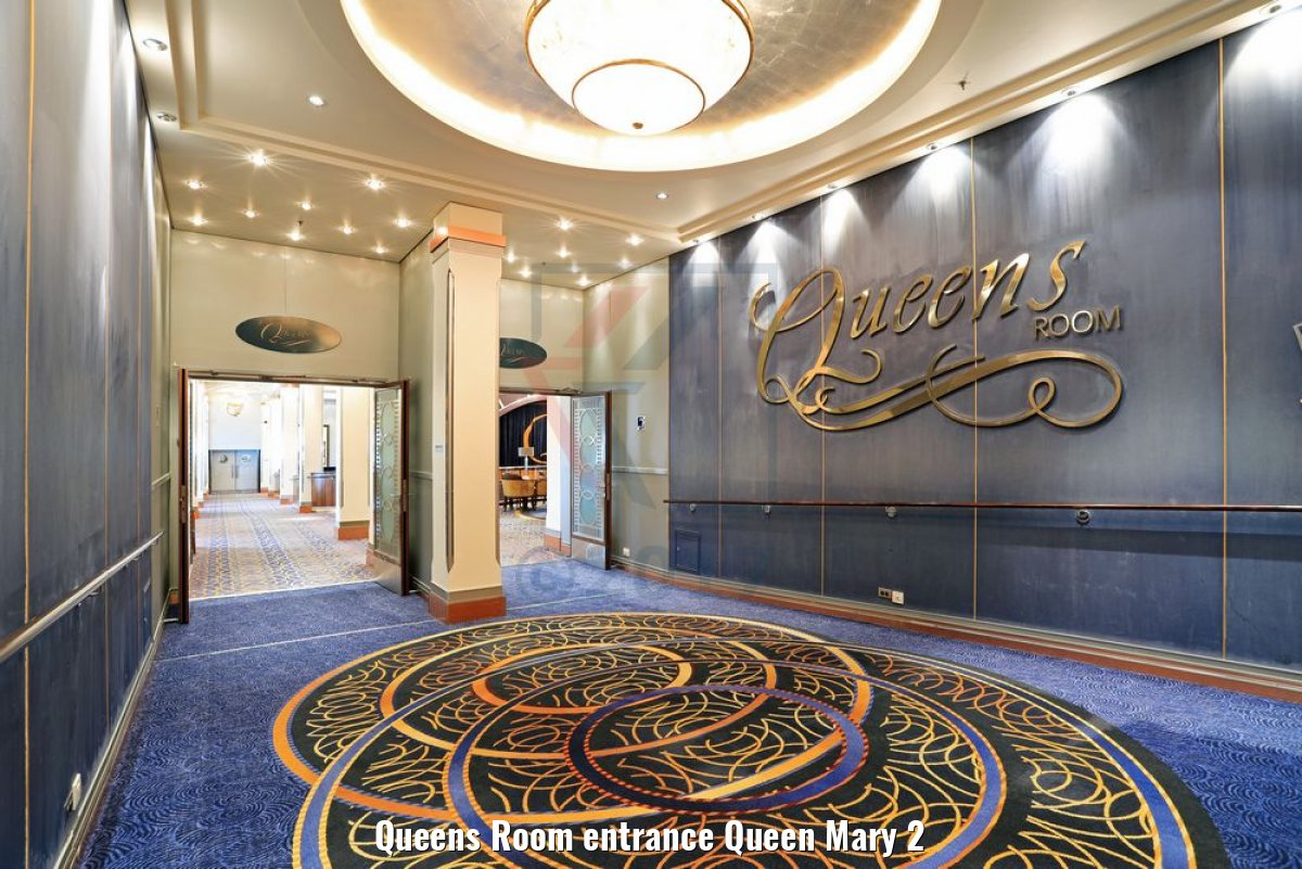 Queens Room entrance Queen Mary 2