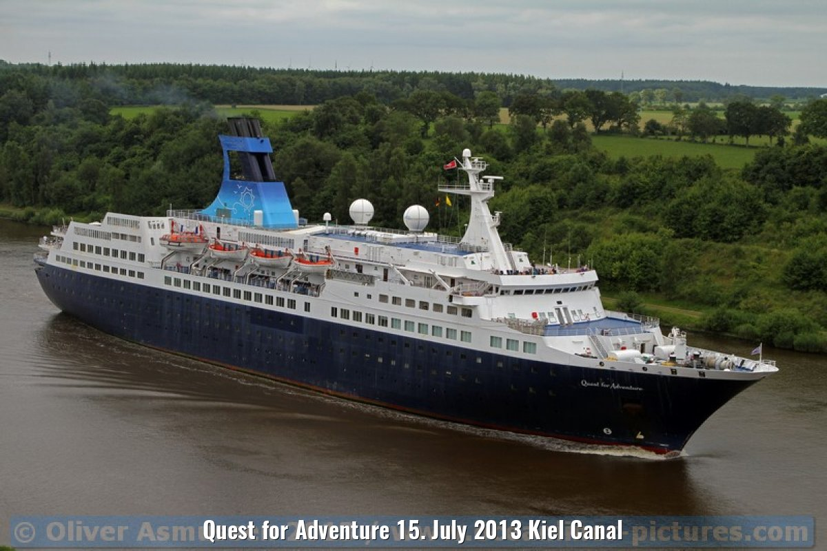 Quest for Adventure 15. July 2013 Kiel Canal