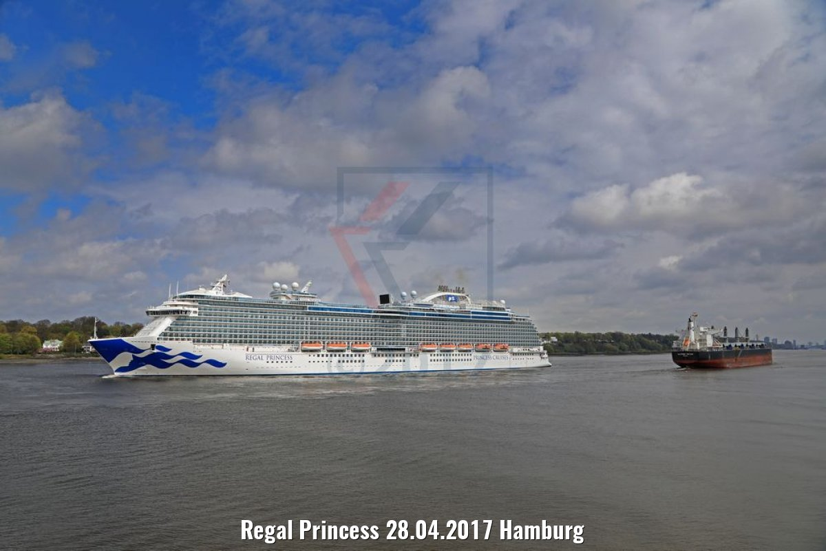 Regal Princess 28.04.2017 Hamburg