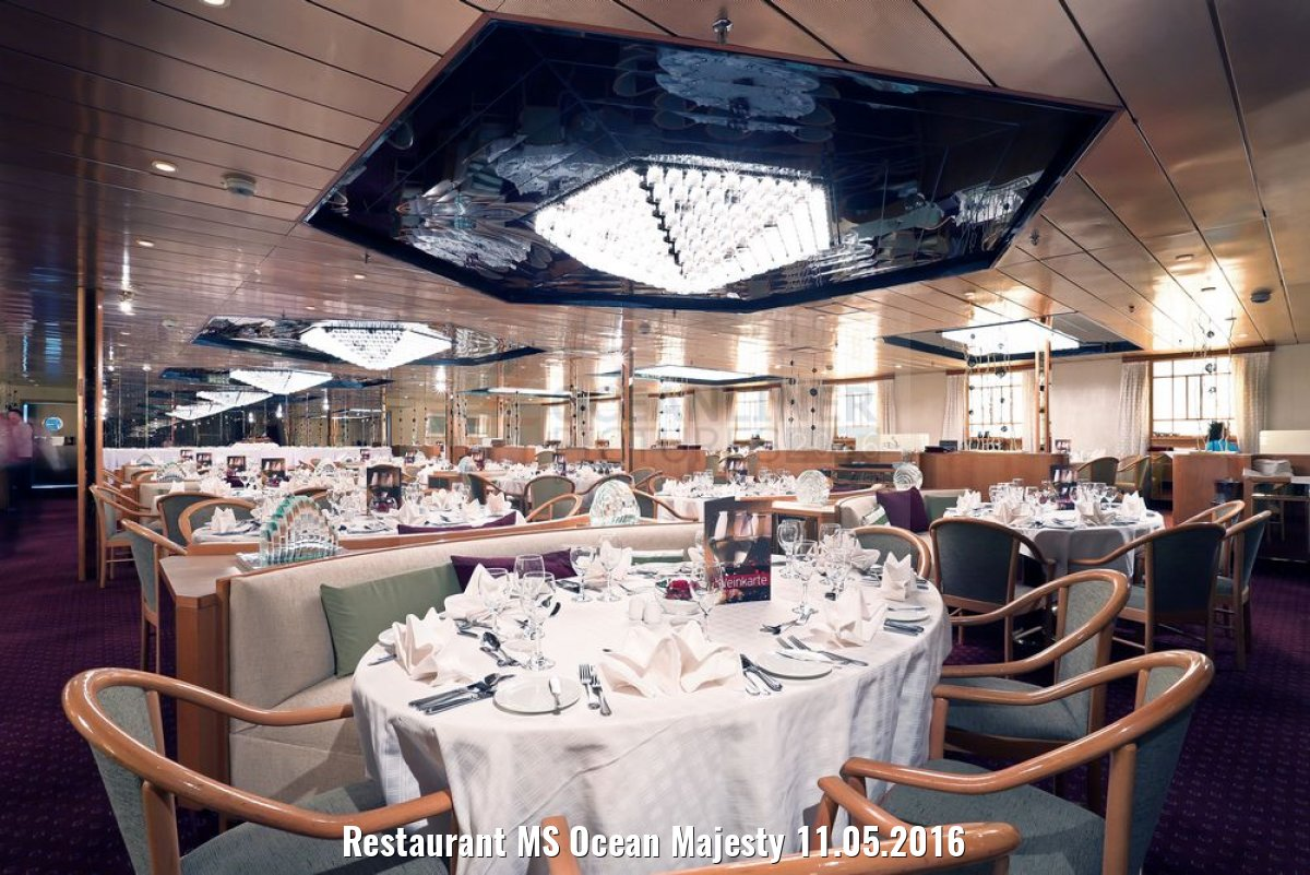 Restaurant MS Ocean Majesty 11.05.2016