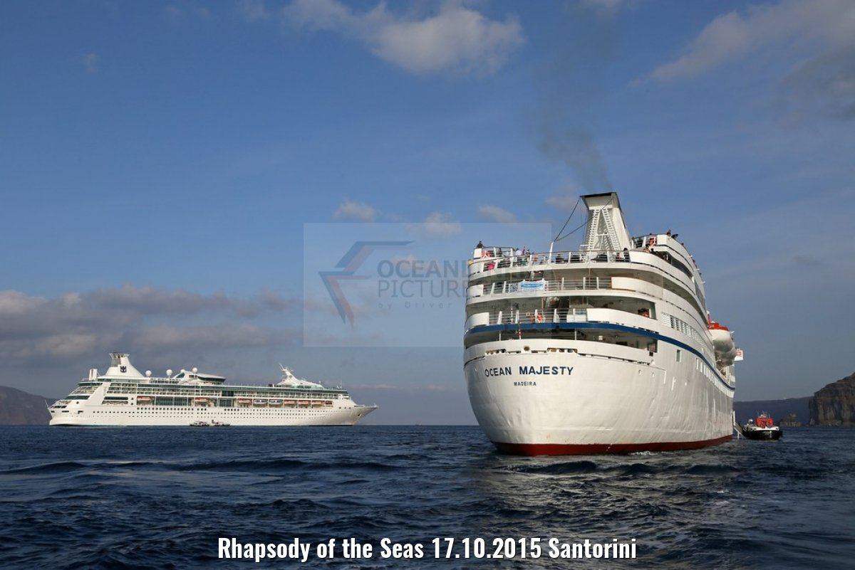 Rhapsody of the Seas 17.10.2015 Santorini