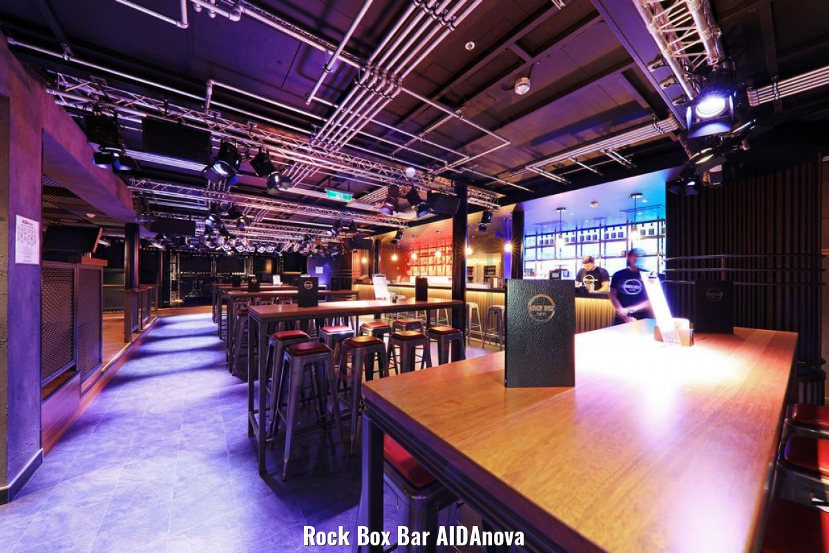 Rock Box Bar AIDAnova