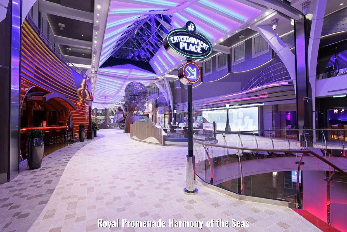 Royal Promenade Harmony of the Seas