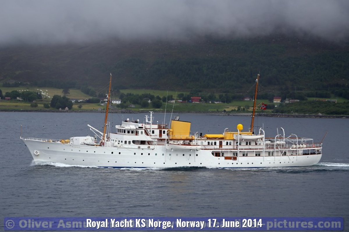 Royal Yacht KS Norge, Norway 17. June 2014