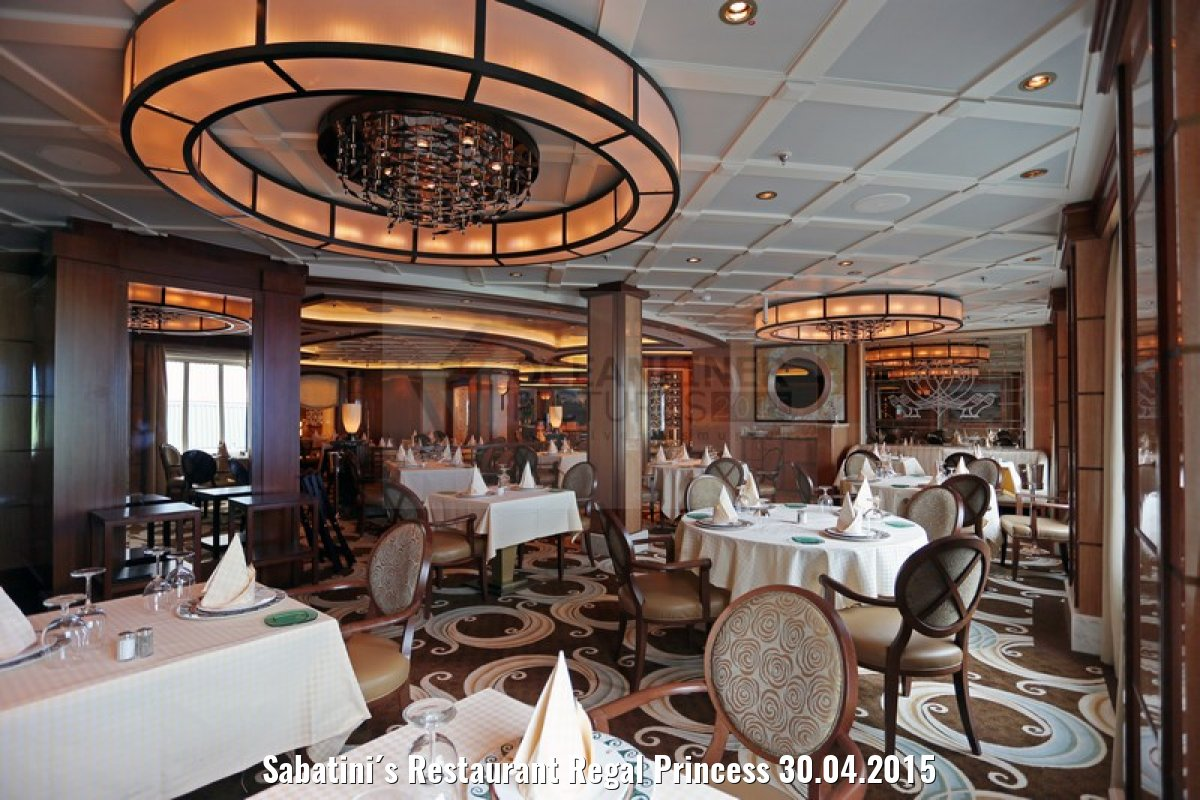 Sabatini´s Restaurant Regal Princess 30.04.2015