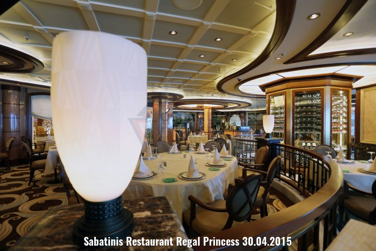 Sabatinis Restaurant Regal Princess 30.04.2015