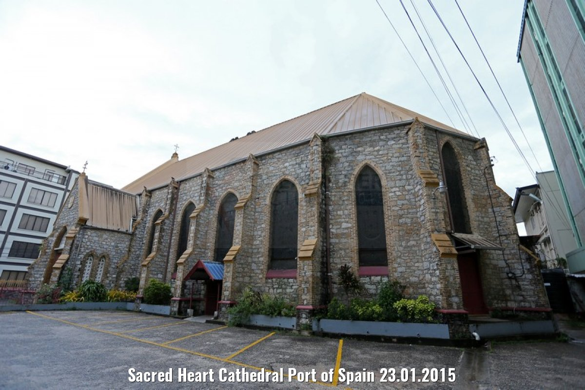 Sacred Heart Cathedral Port of Spain 23.01.2015