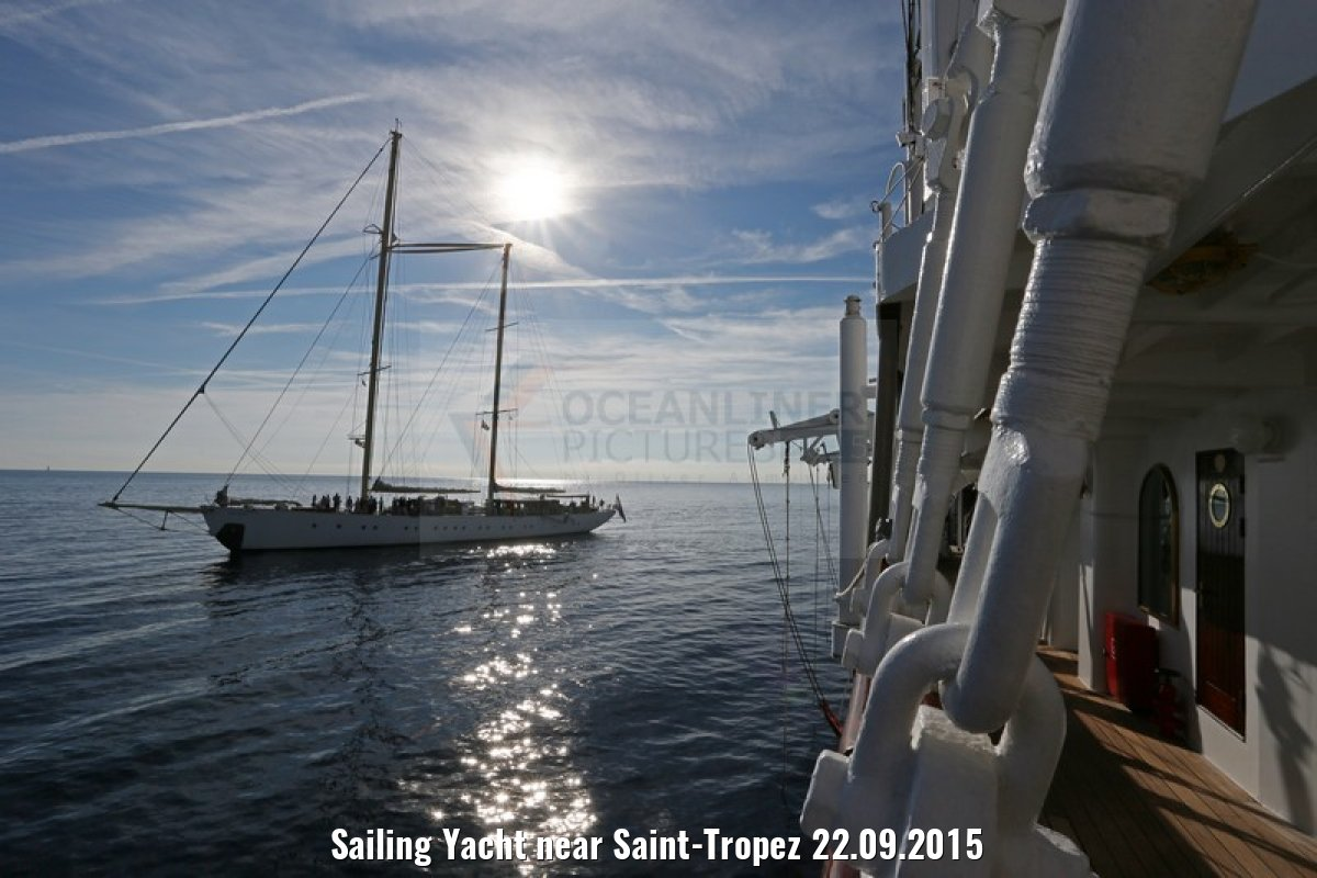 Sailing Yacht near Saint-Tropez 22.09.2015