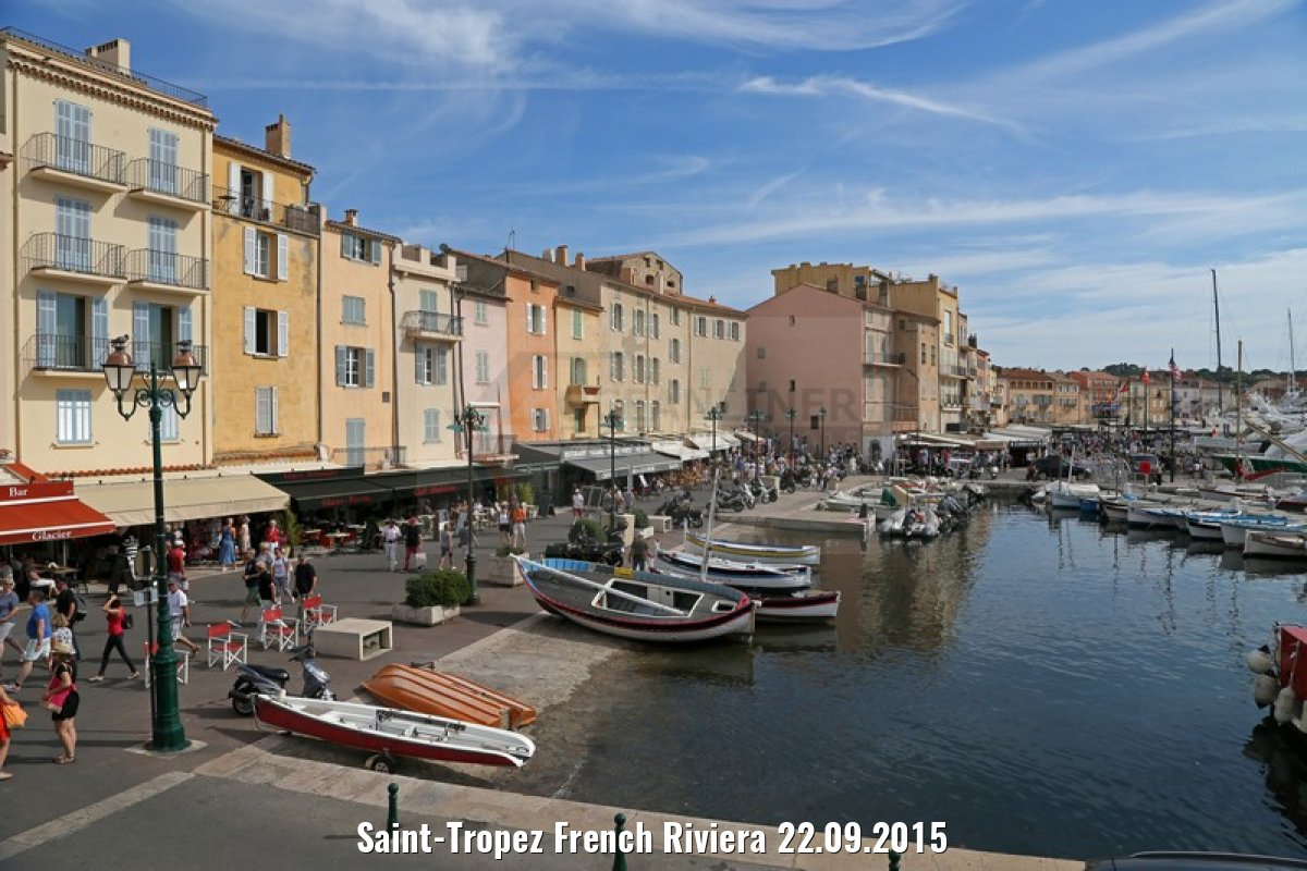 Saint-Tropez French Riviera 22.09.2015