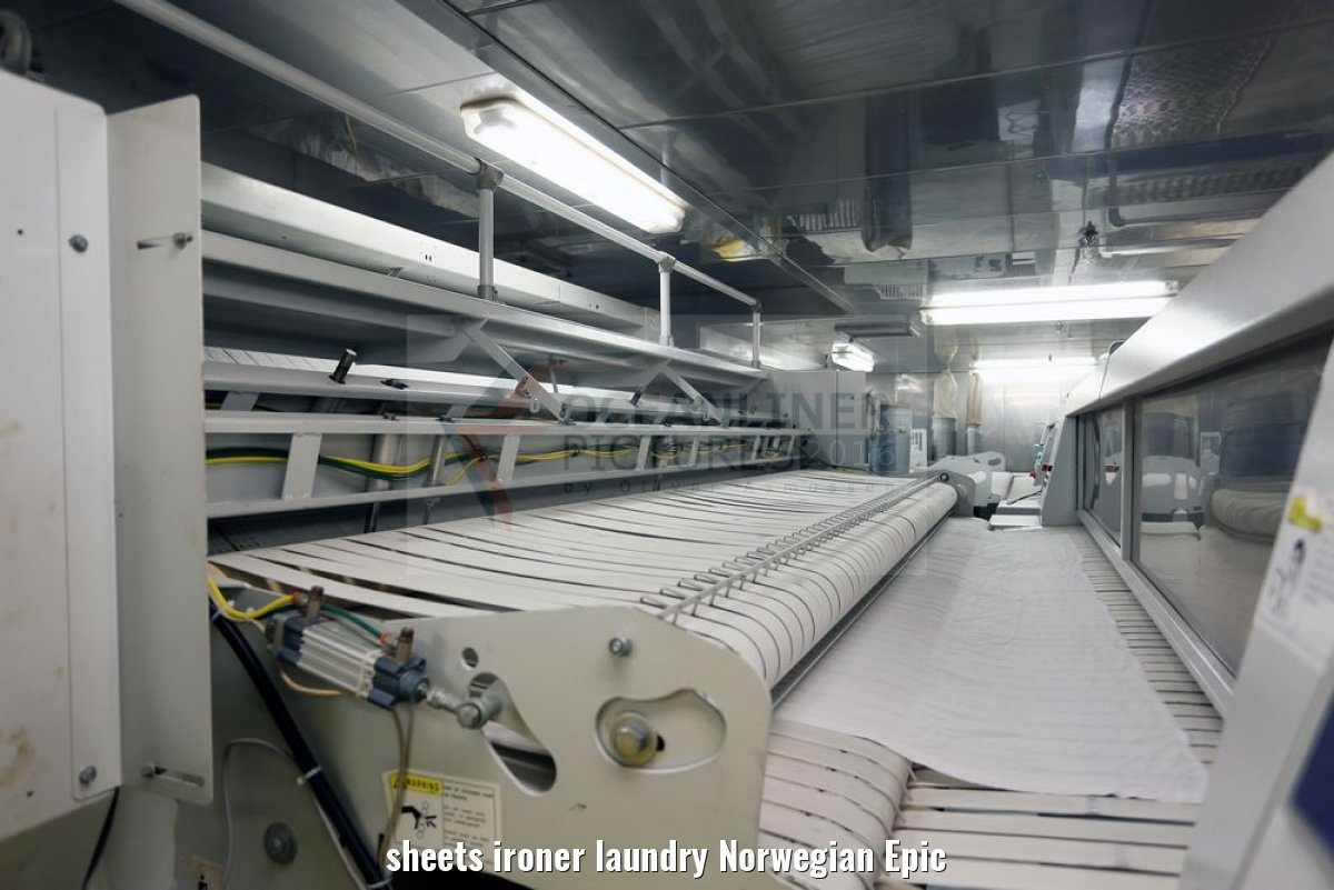 sheets ironer laundry Norwegian Epic