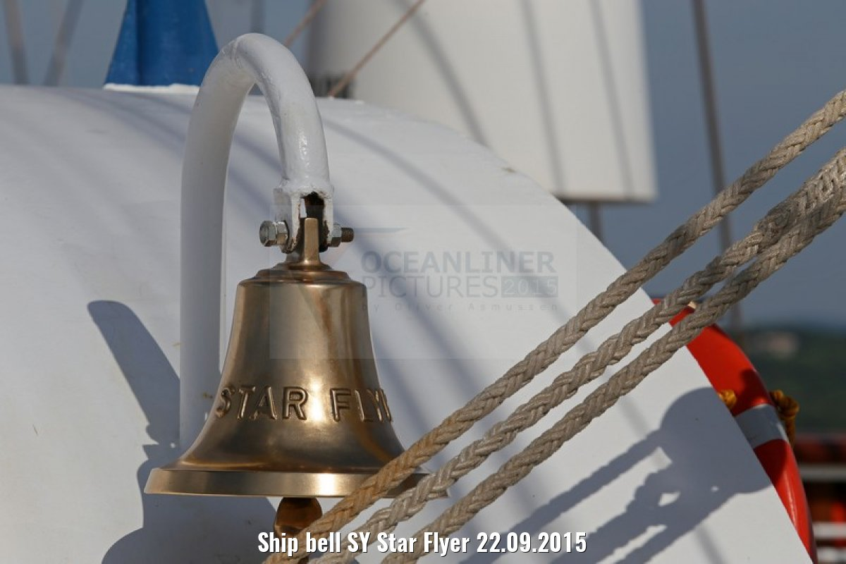 Ship bell SY Star Flyer 22.09.2015