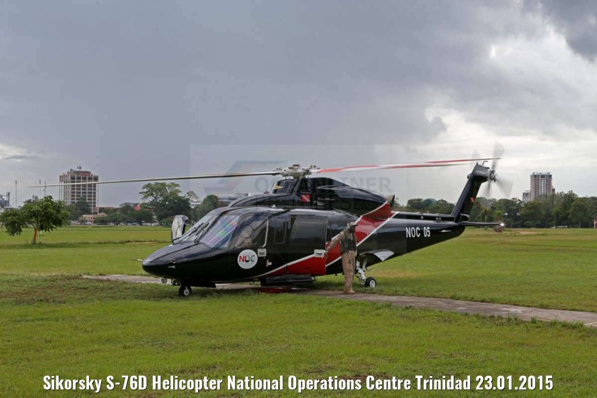 Sikorsky S-76D Helicopter National Operations Centre Trinidad 23.01.2015