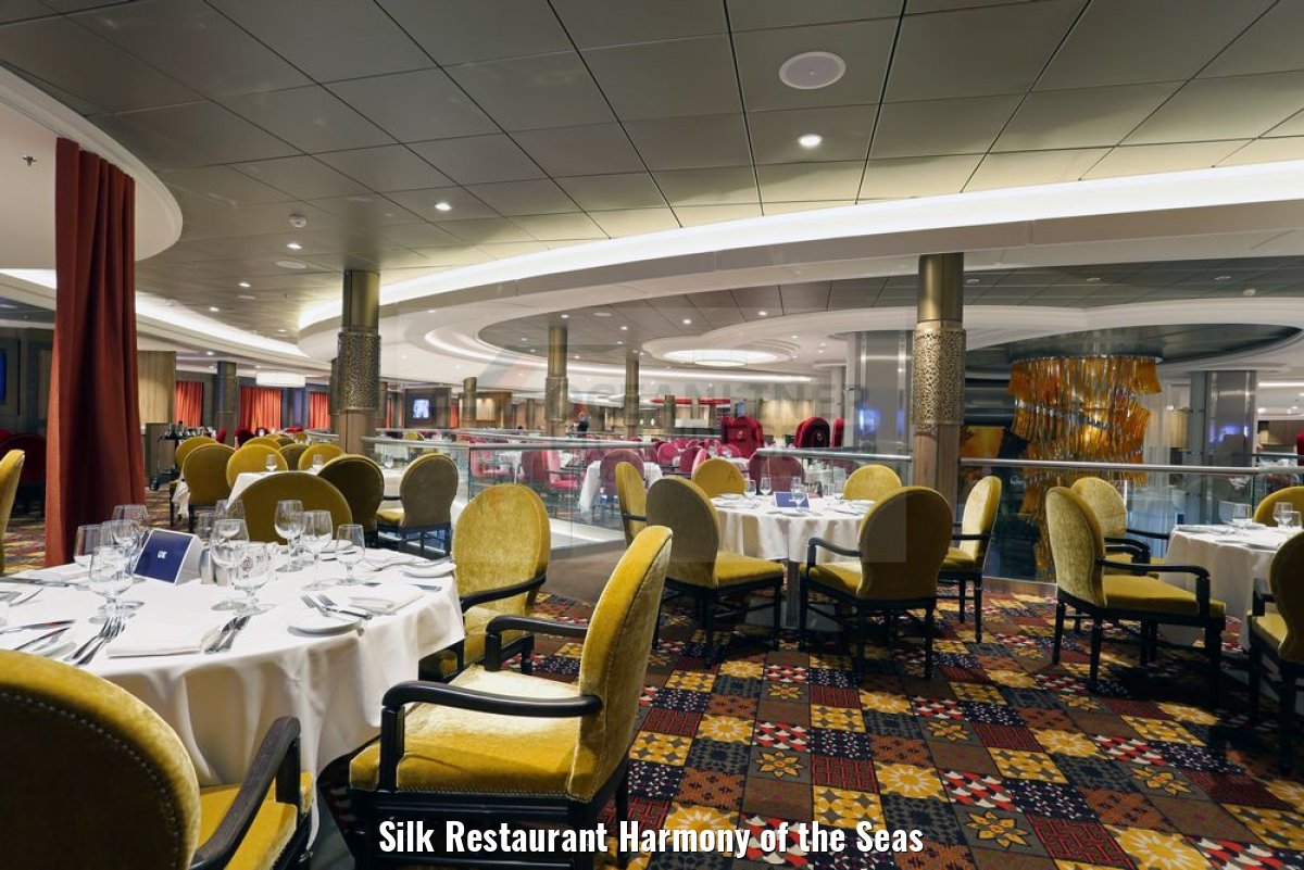 Silk Restaurant Harmony of the Seas