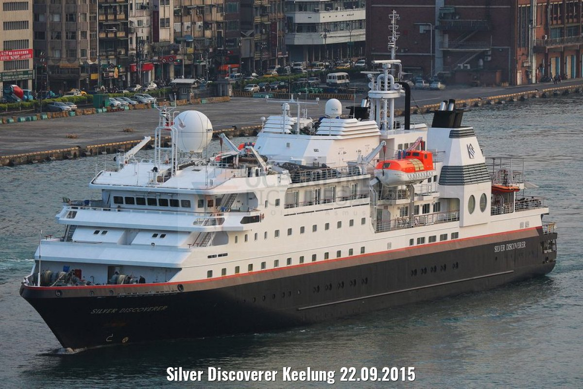 Silver Discoverer Keelung 22.09.2015