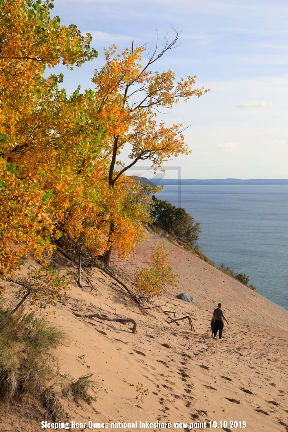 Sleeping Bear Dunes national lakeshore view point 10.10.2019