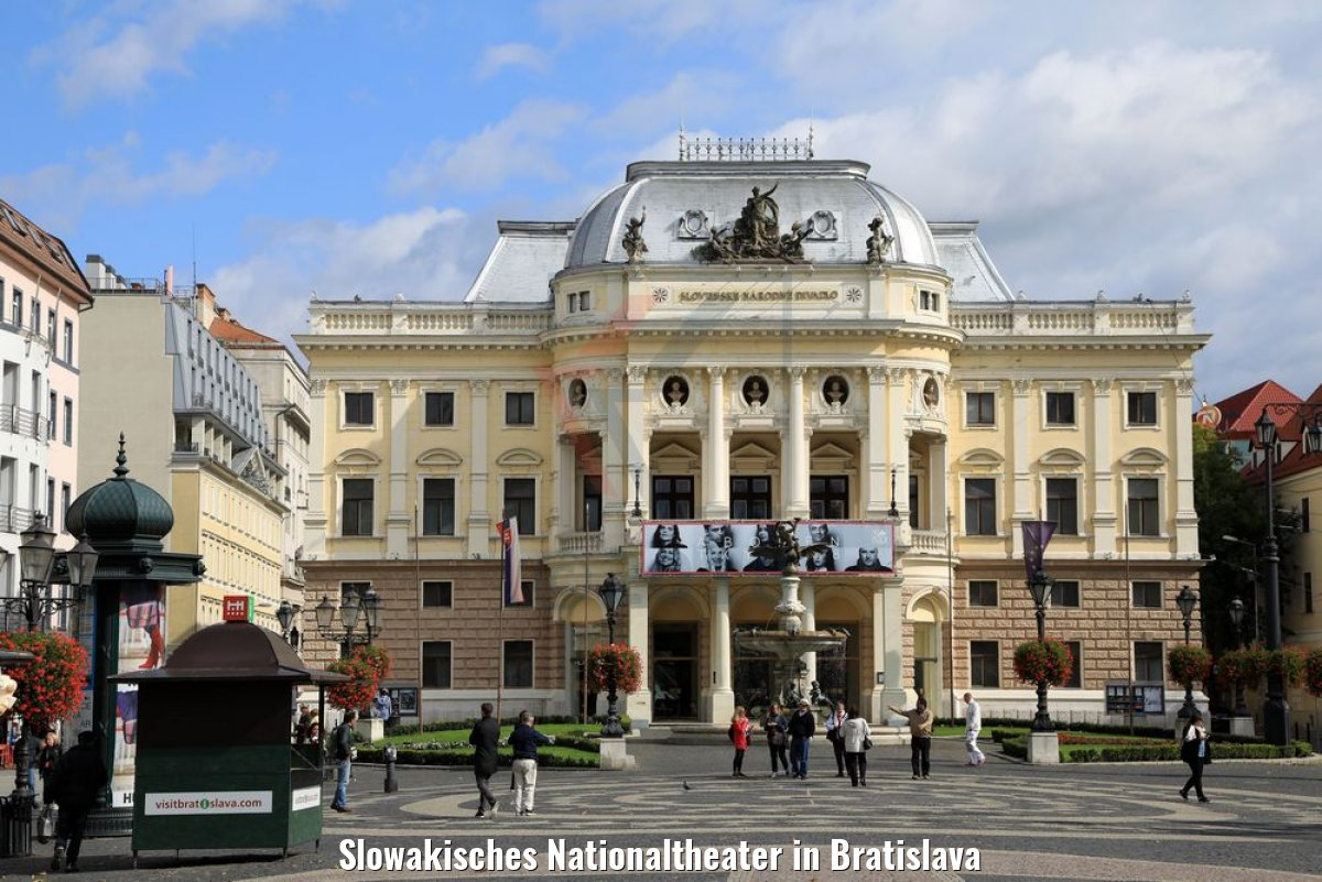 Slowakisches Nationaltheater in Bratislava
