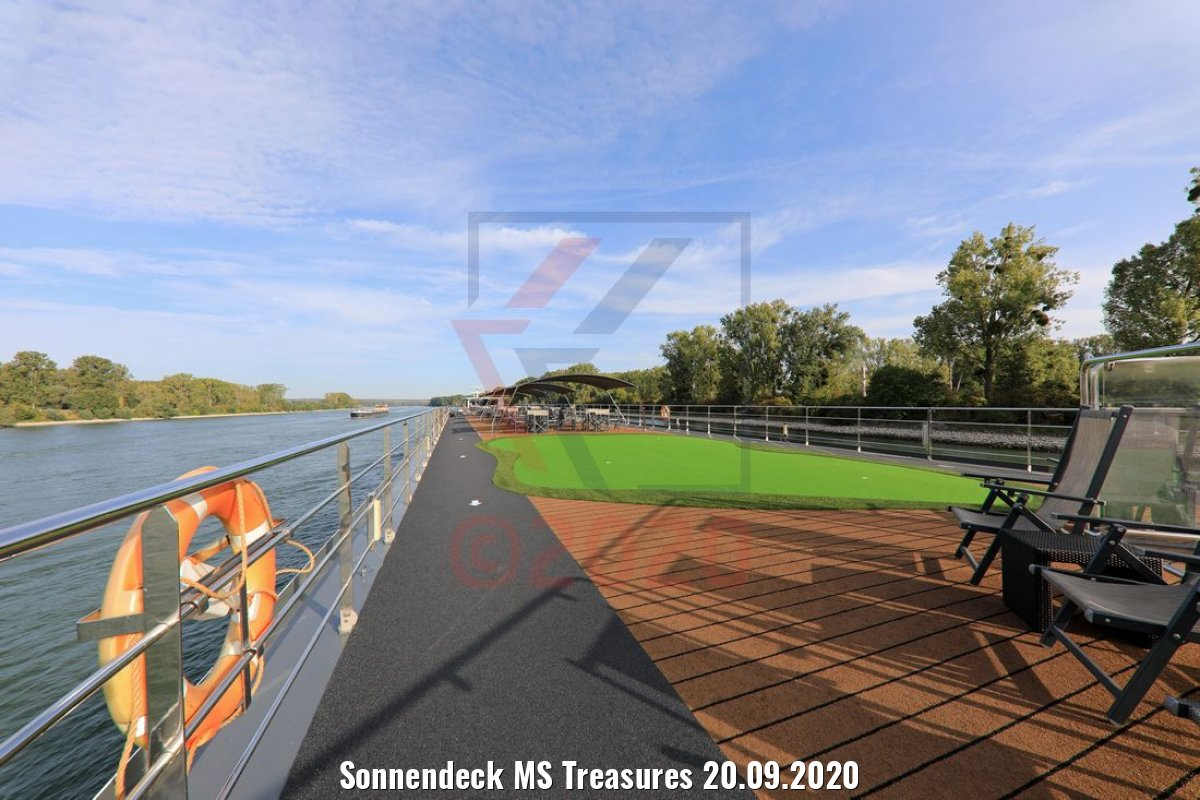 Sonnendeck MS Treasures 20.09.2020