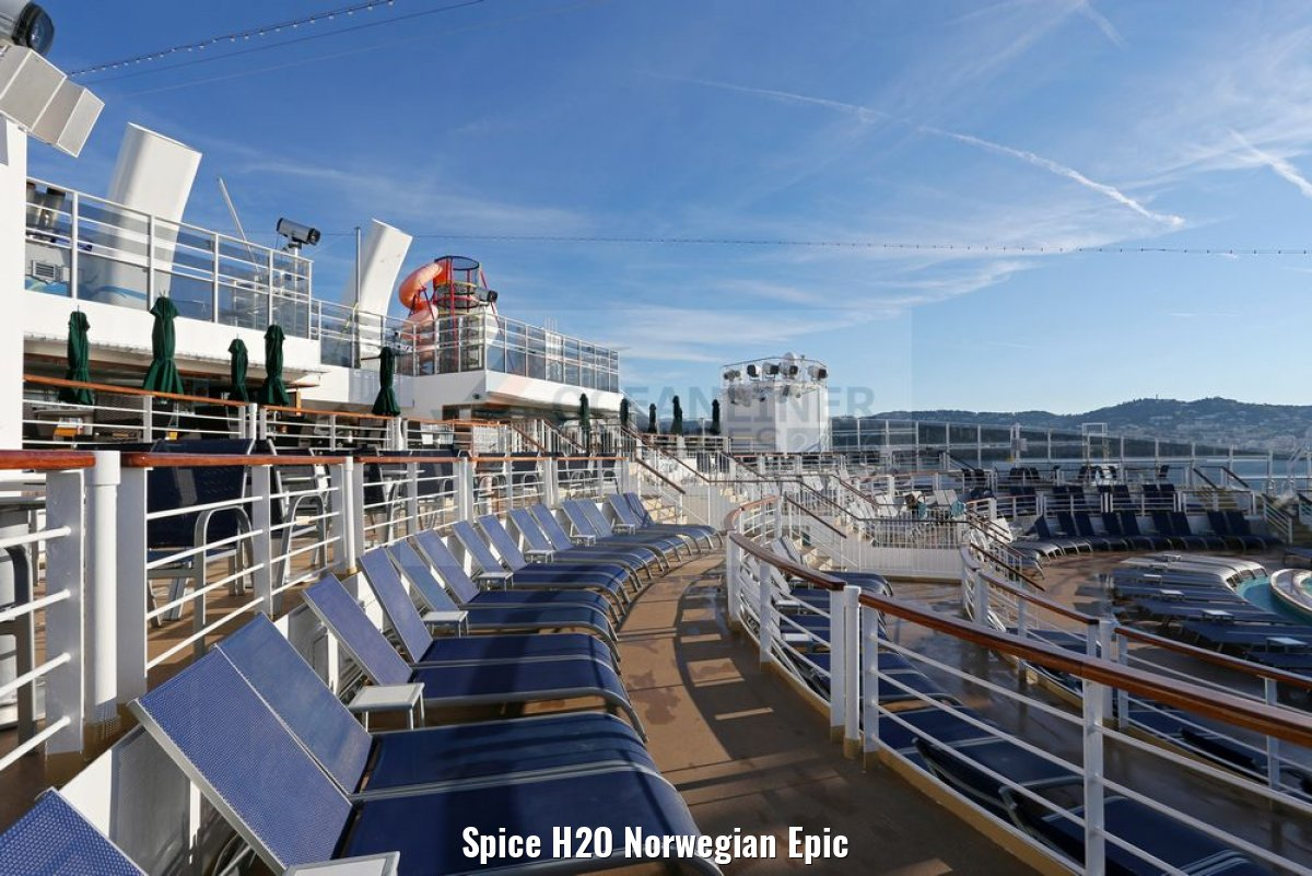 Spice H2O Norwegian Epic
