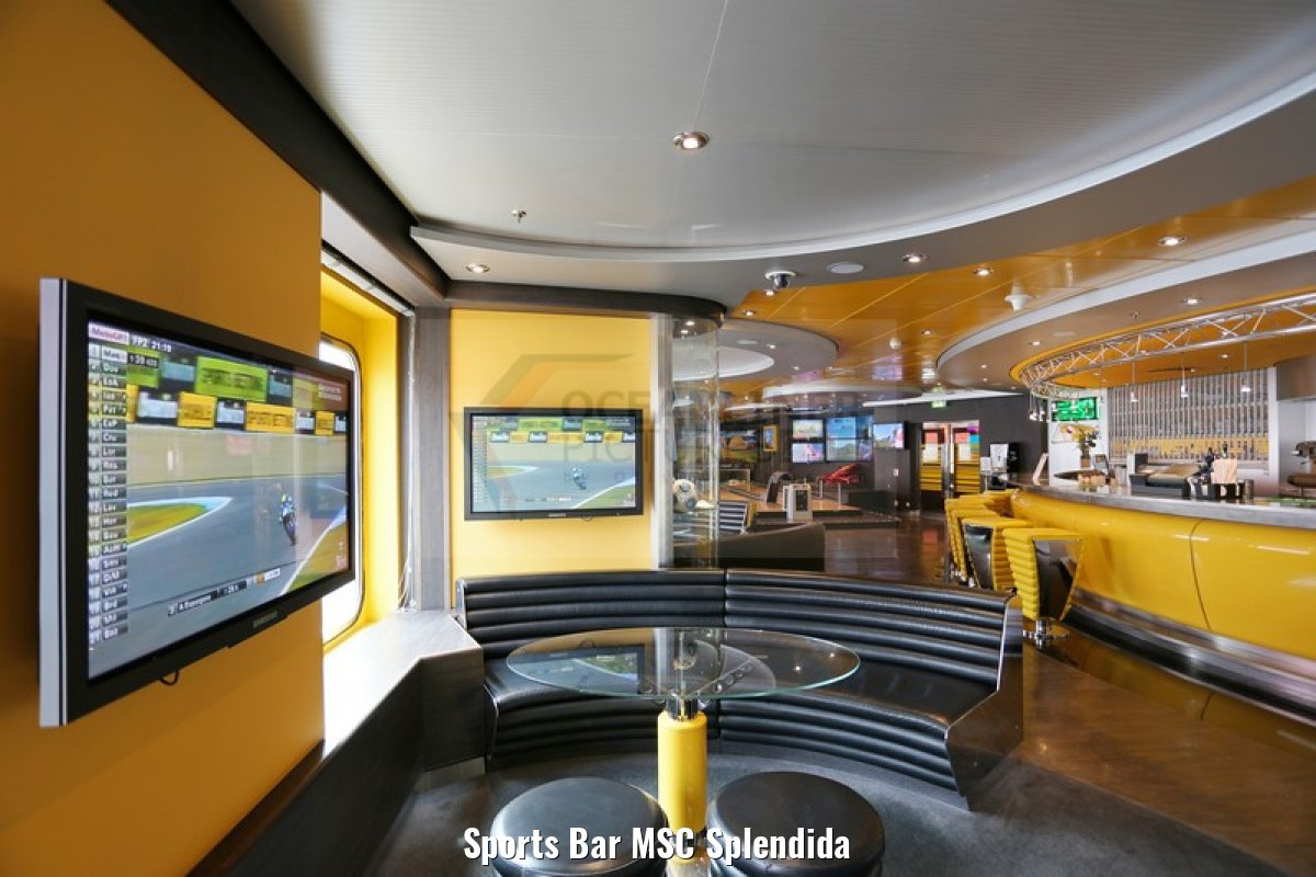 Sports Bar MSC Splendida