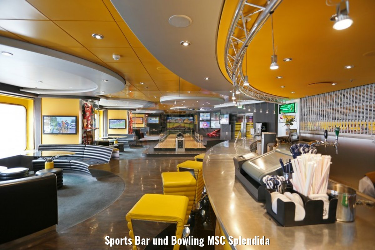 Sports Bar und Bowling MSC Splendida