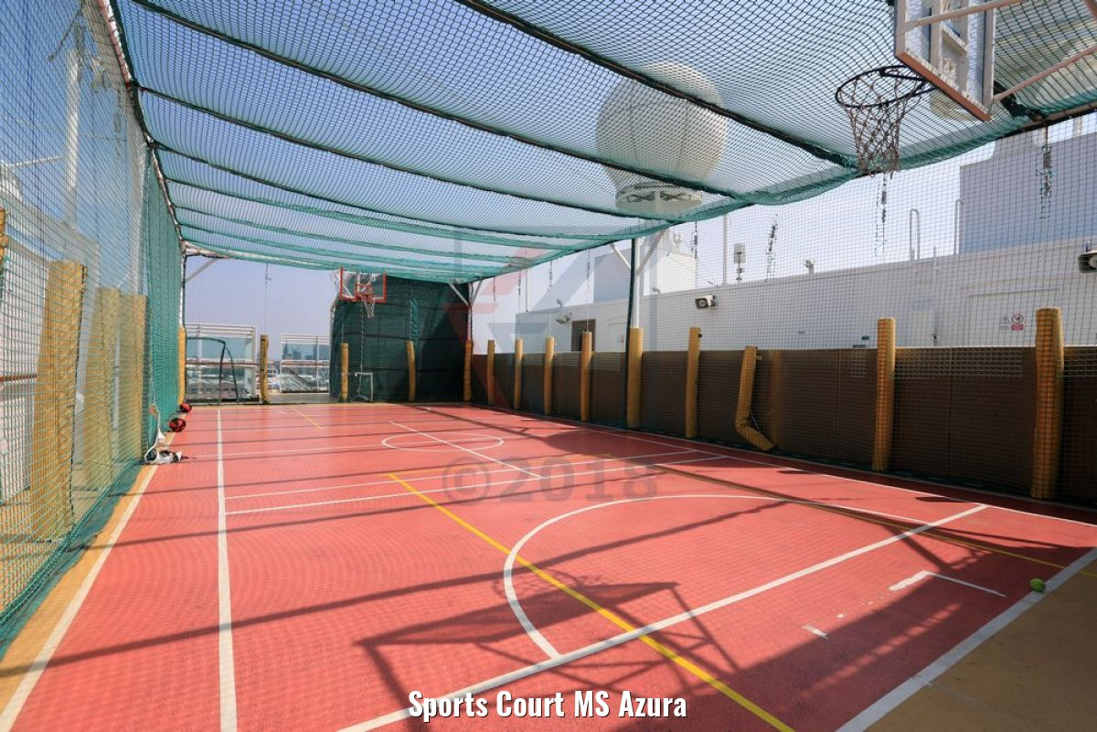 Sports Court MS Azura