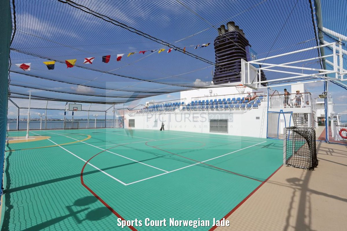 Sports Court Norwegian Jade
