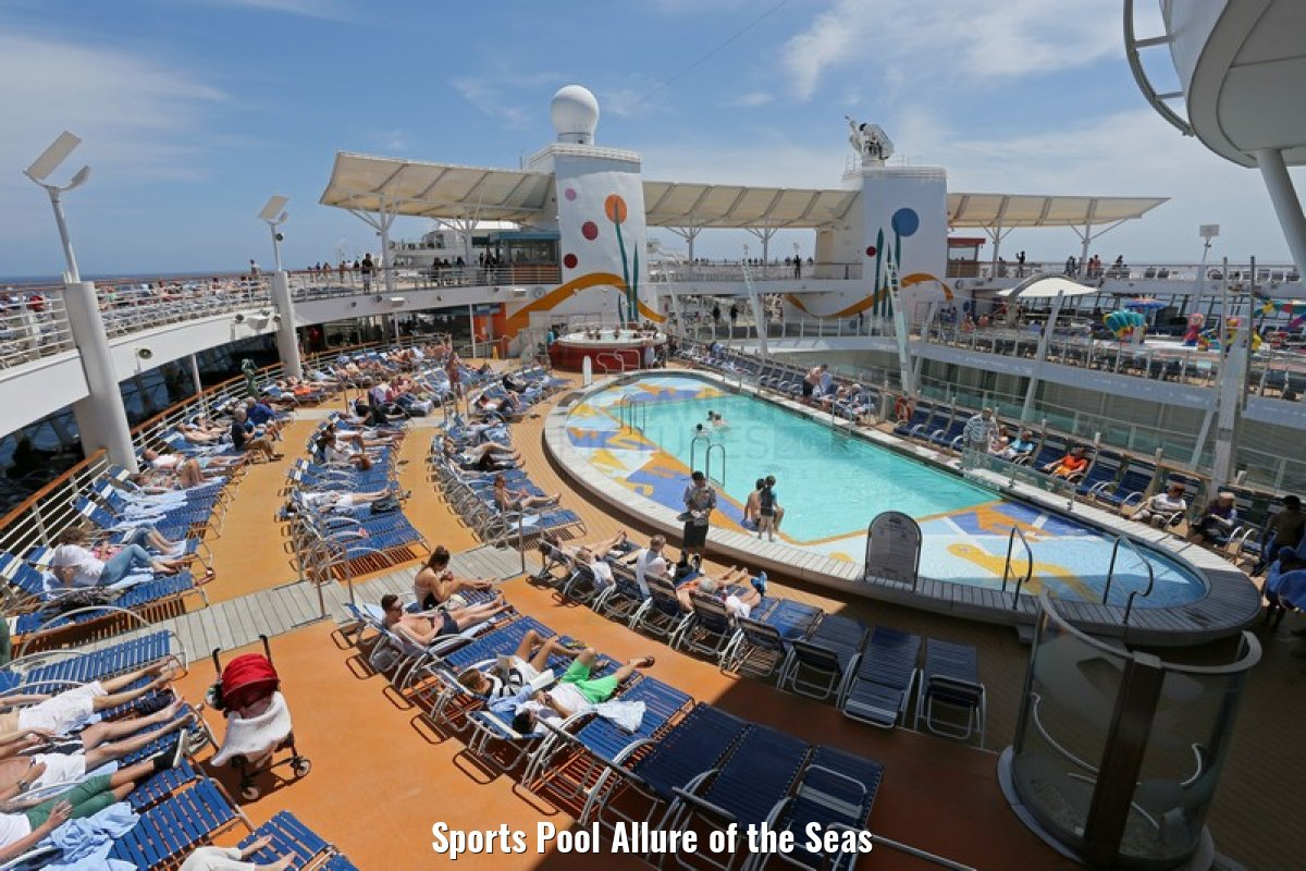 Sports Pool Allure of the Seas