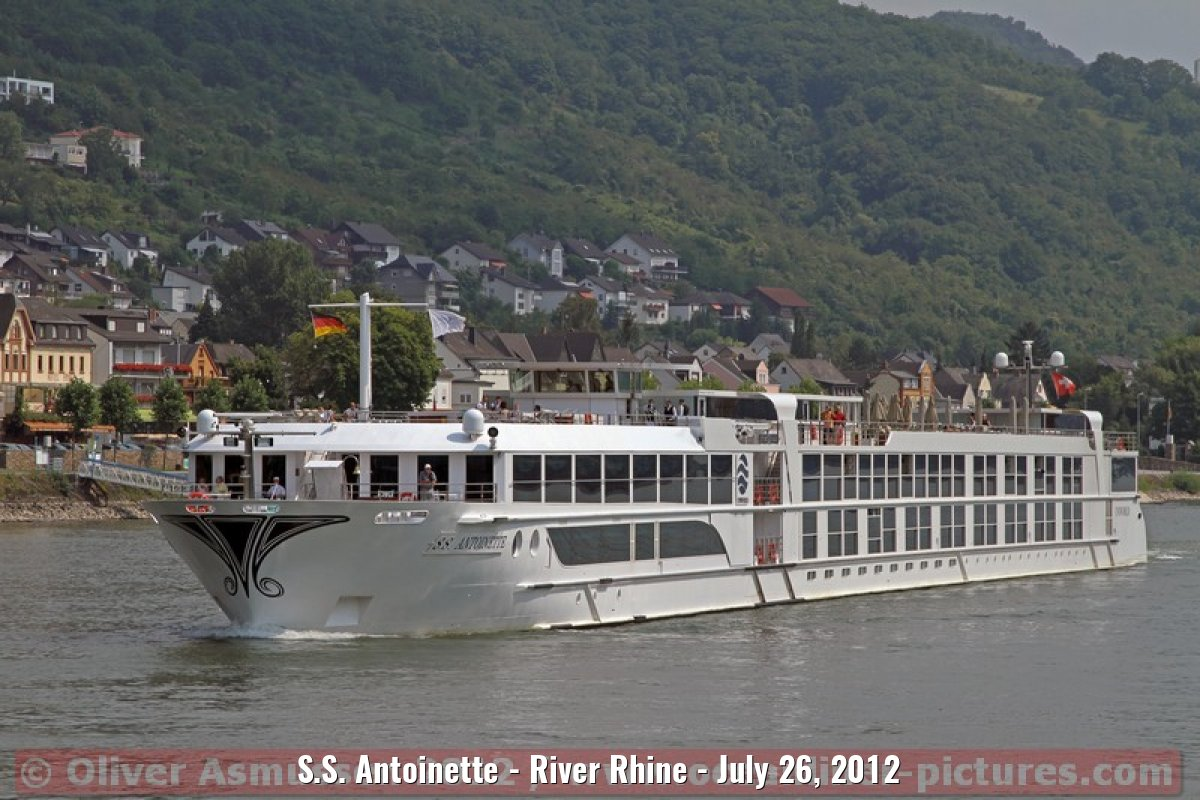 S.S. Antoinette - River Rhine - July 26, 2012