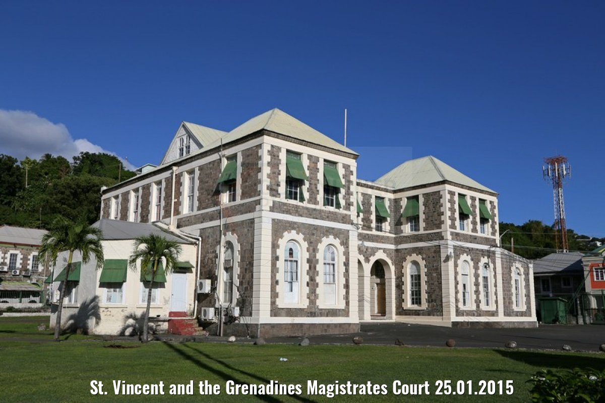St. Vincent and the Grenadines Magistrates Court 25.01.2015
