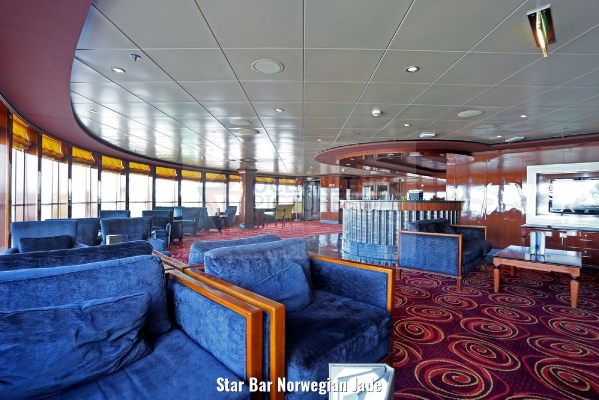 Star Bar Norwegian Jade