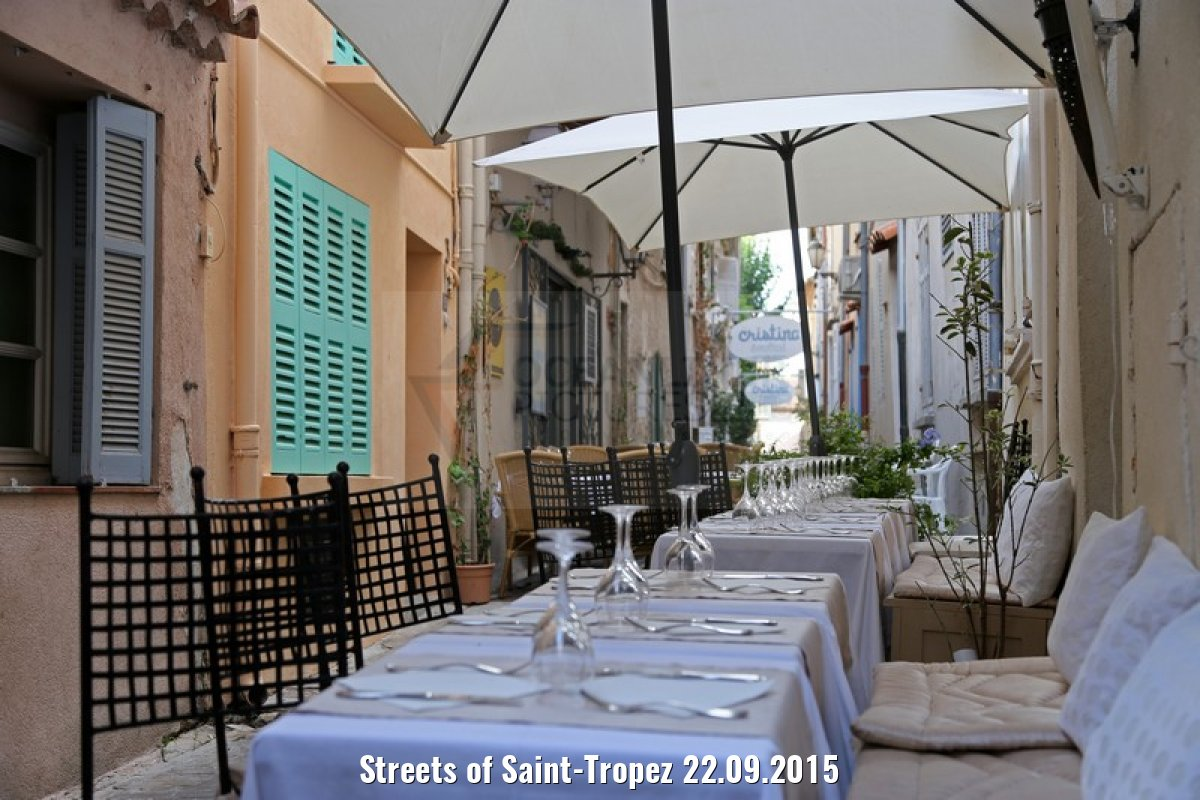 Streets of Saint-Tropez 22.09.2015