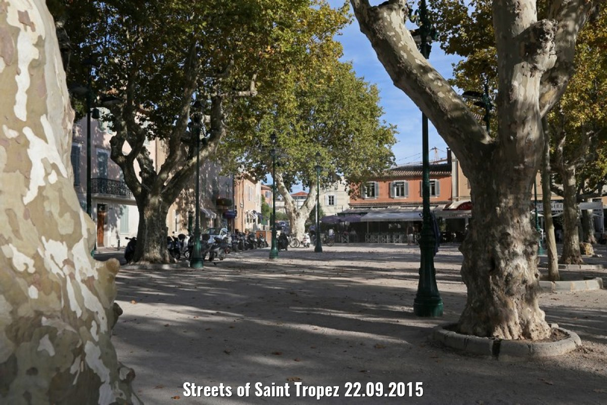 Streets of Saint Tropez 22.09.2015