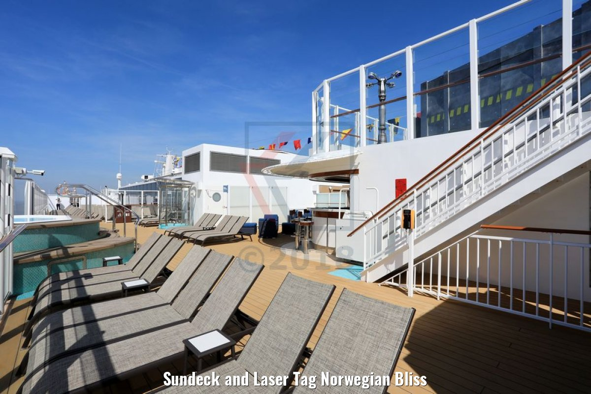Sundeck and Laser Tag Norwegian Bliss