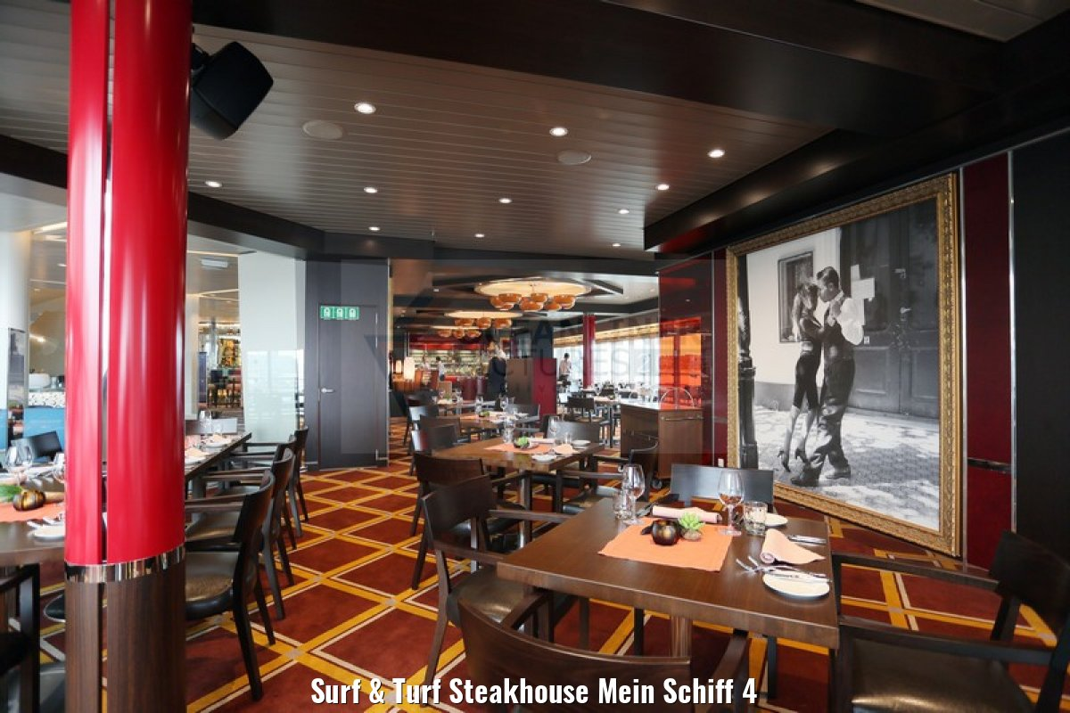 Surf & Turf Steakhouse Mein Schiff 4