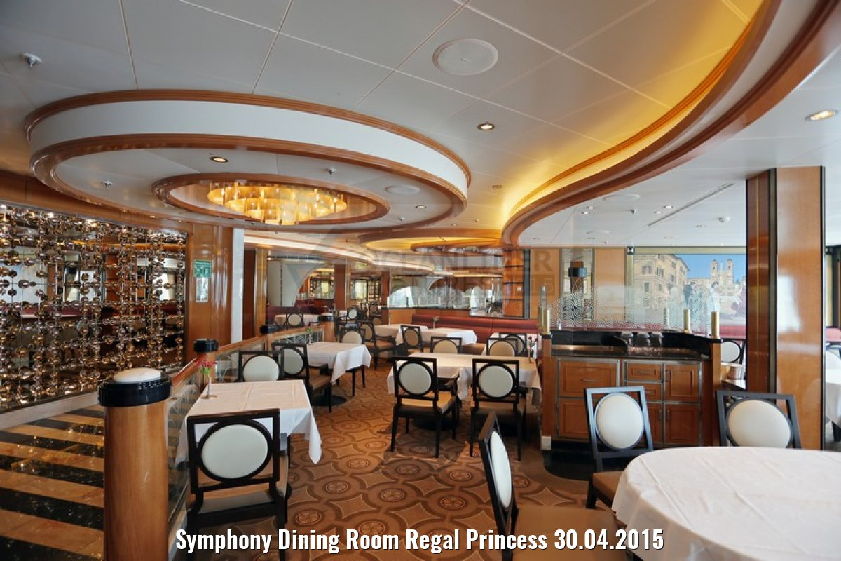 Symphony Dining Room Regal Princess 30.04.2015