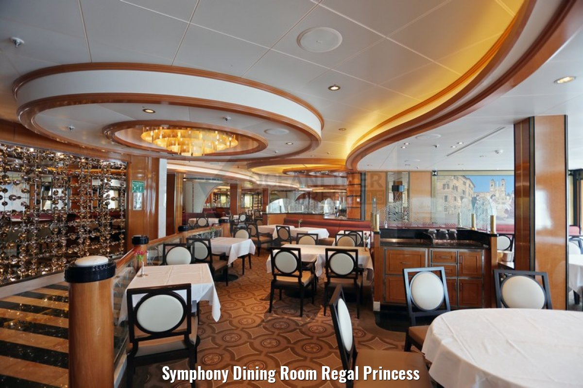 Symphony Dining Room Regal Princess