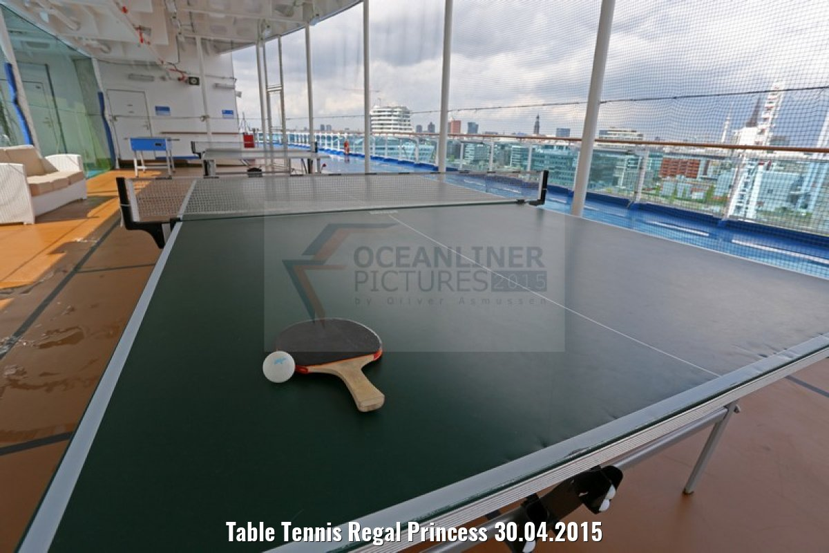 Table Tennis Regal Princess 30.04.2015