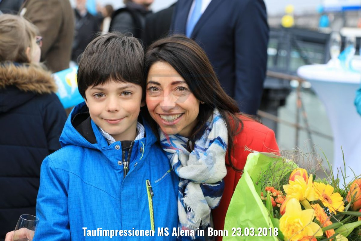 Taufimpressionen MS Alena in Bonn 23.03.2018