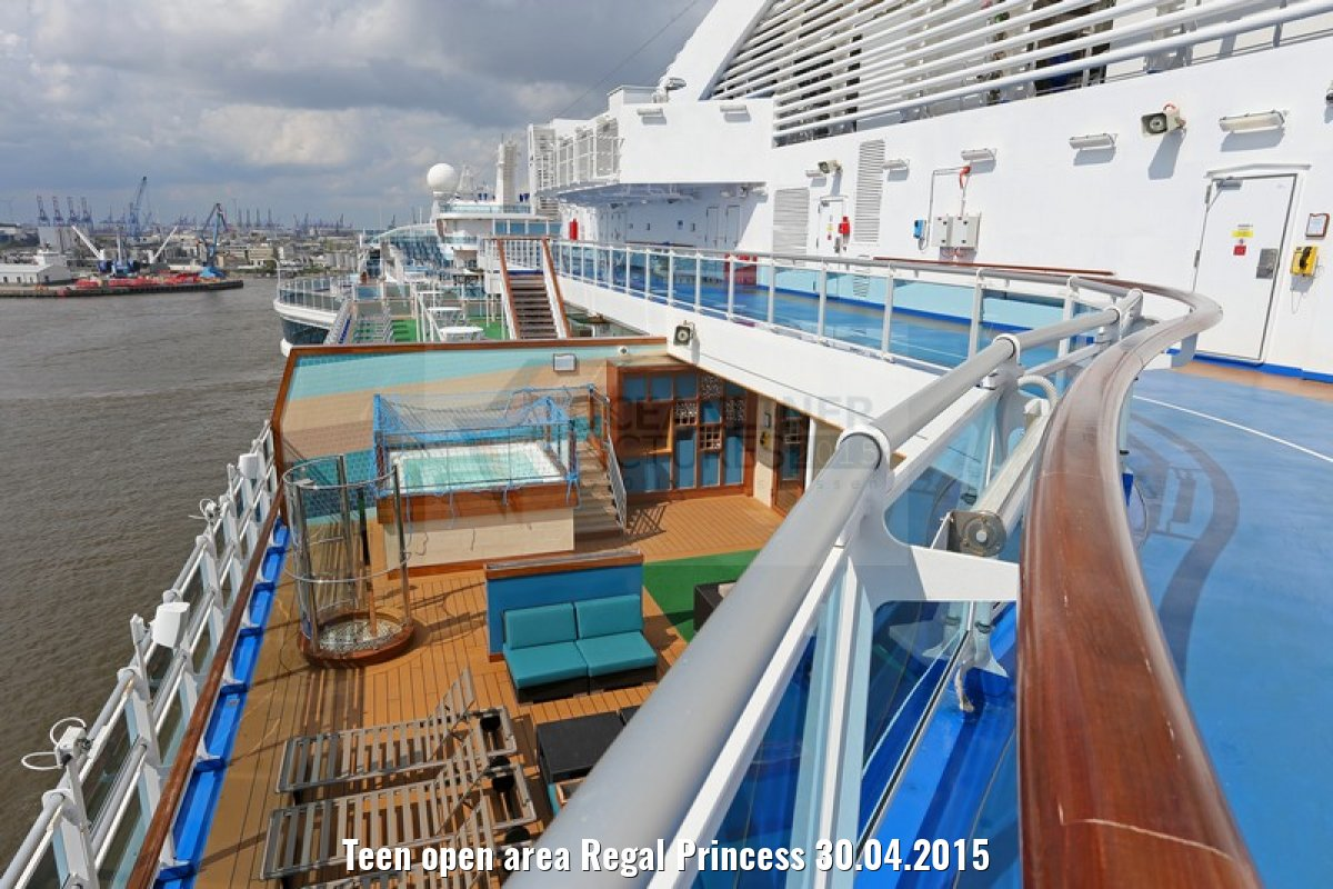 Teen open area Regal Princess 30.04.2015