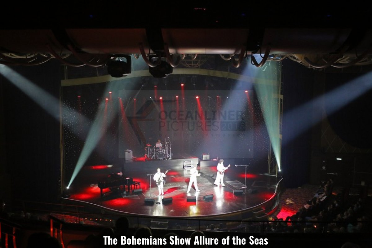 The Bohemians Show Allure of the Seas