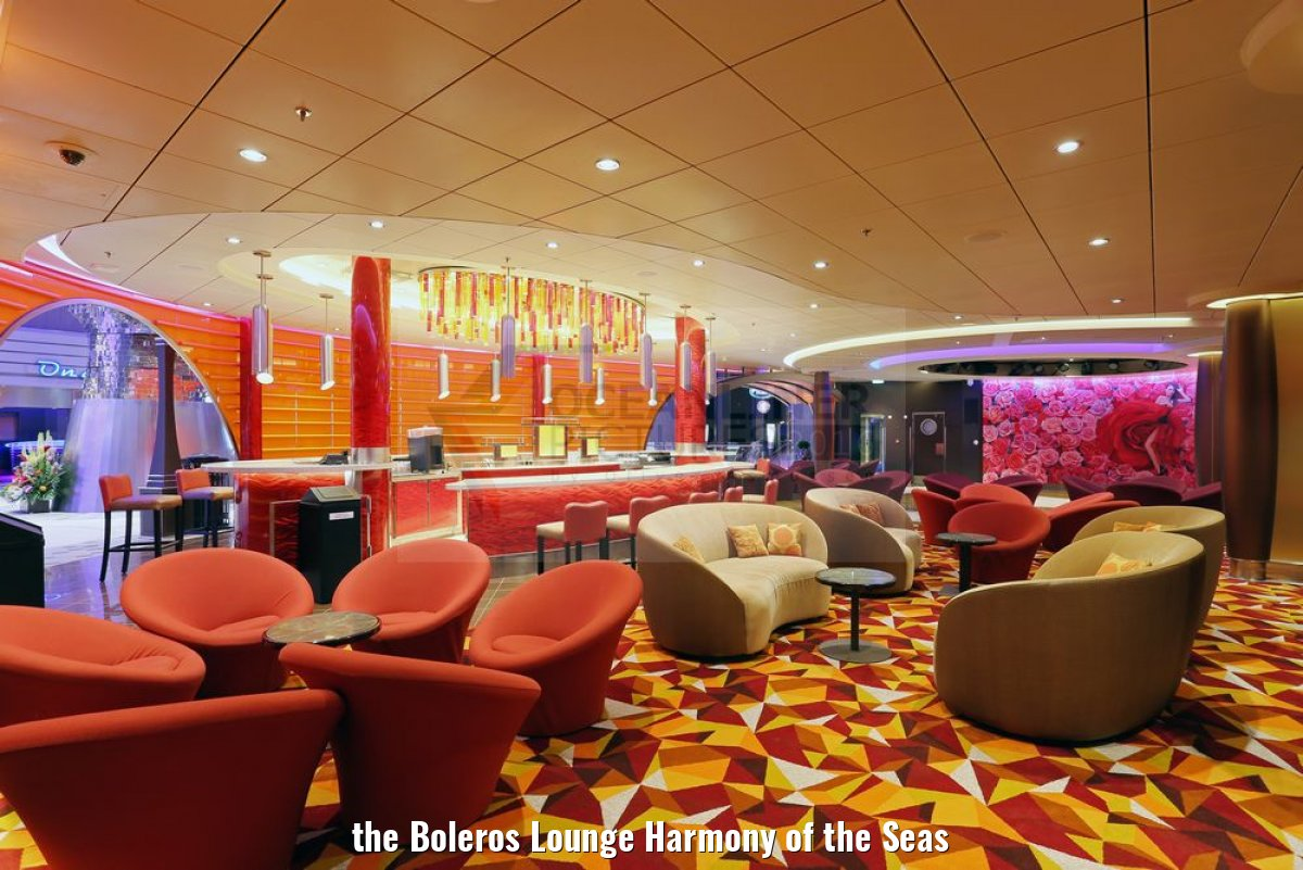 the Boleros Lounge Harmony of the Seas