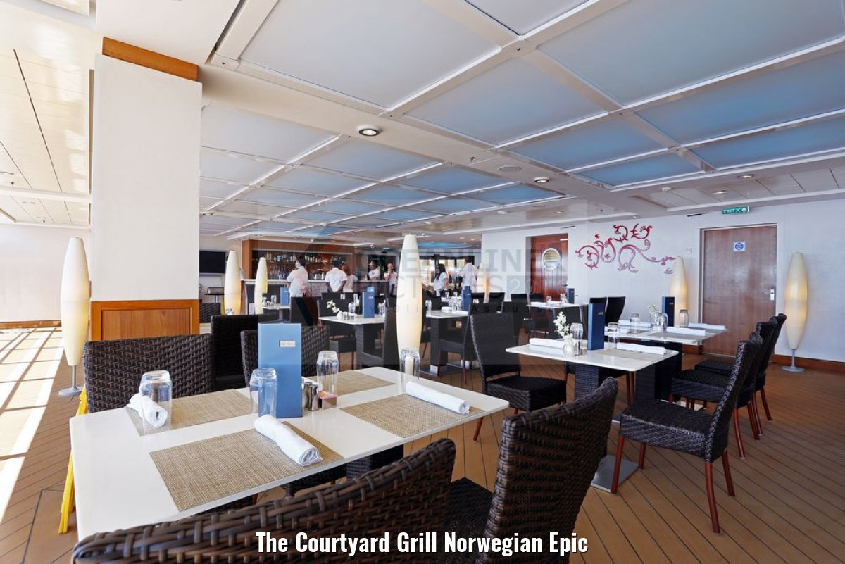 The Courtyard Grill Norwegian Epic