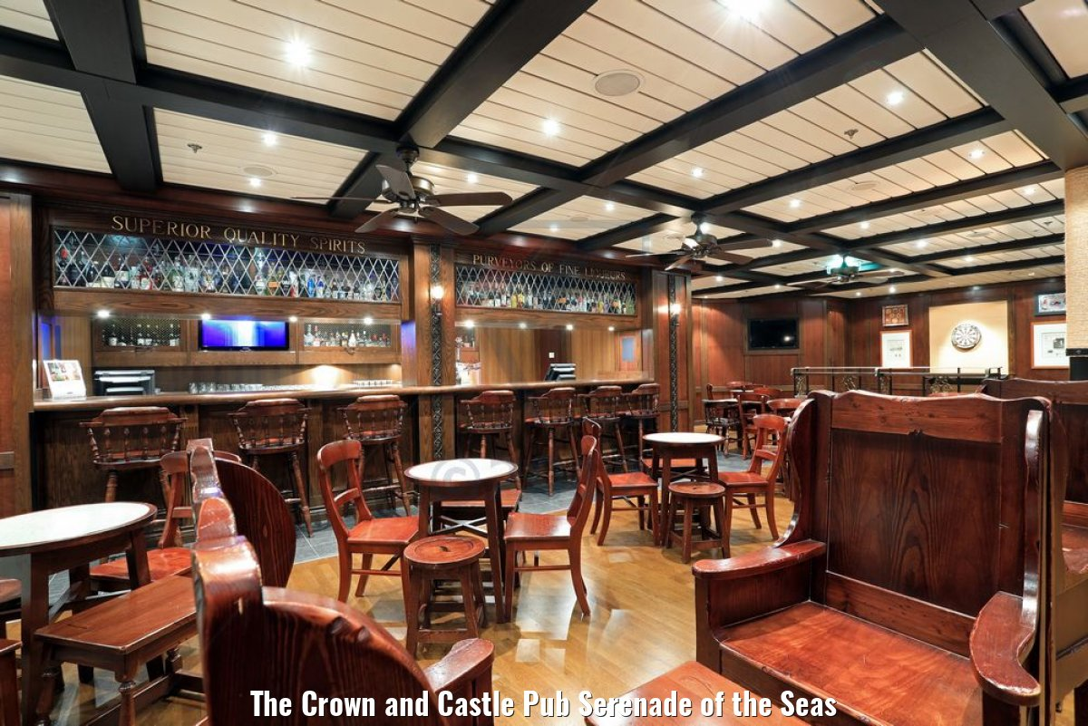 The Crown and Castle Pub Serenade of the Seas