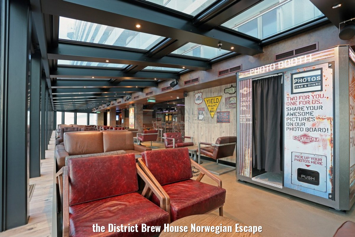 the District Brew House Norwegian Escape