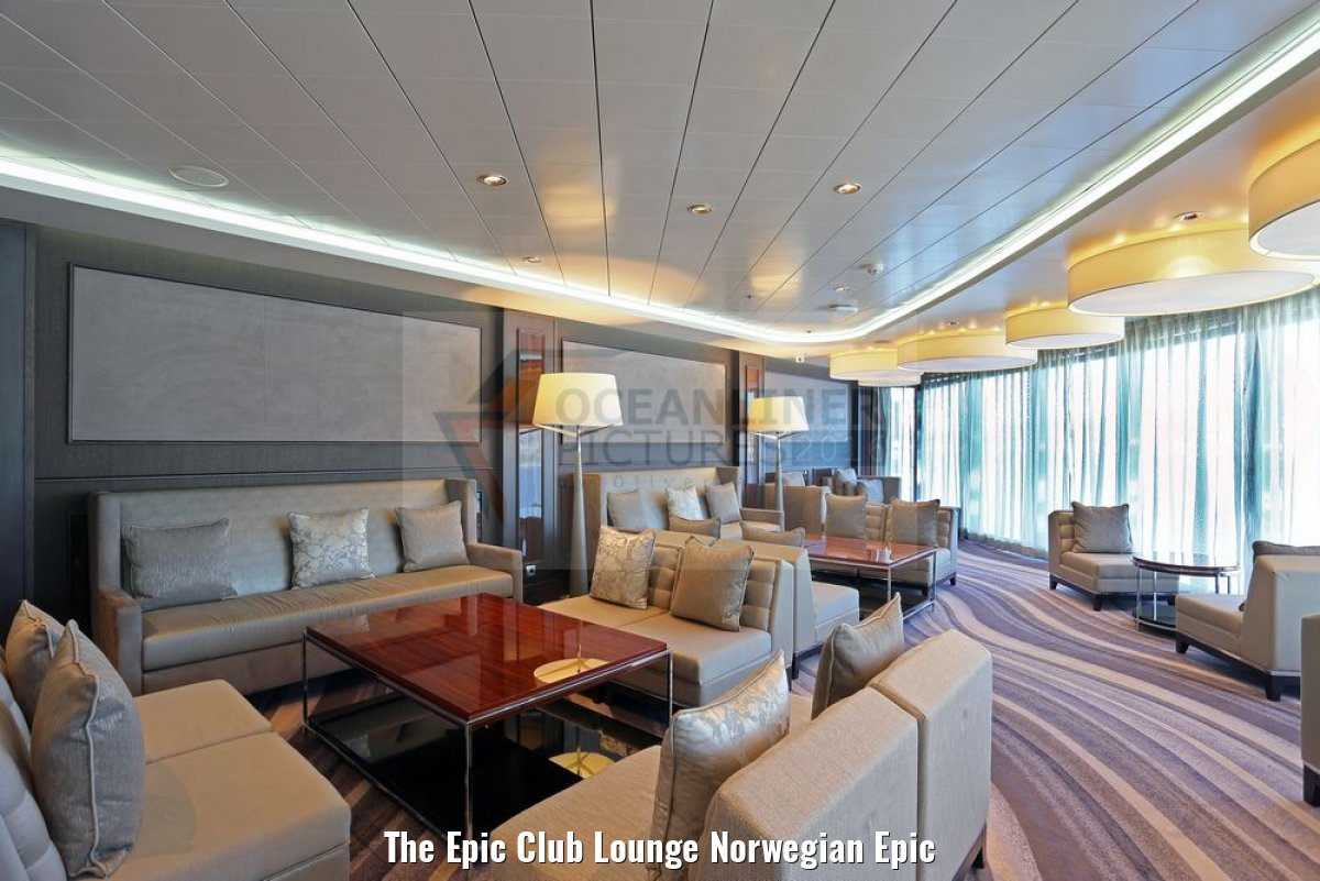 The Epic Club Lounge Norwegian Epic